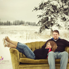 Snow Maternity Picture