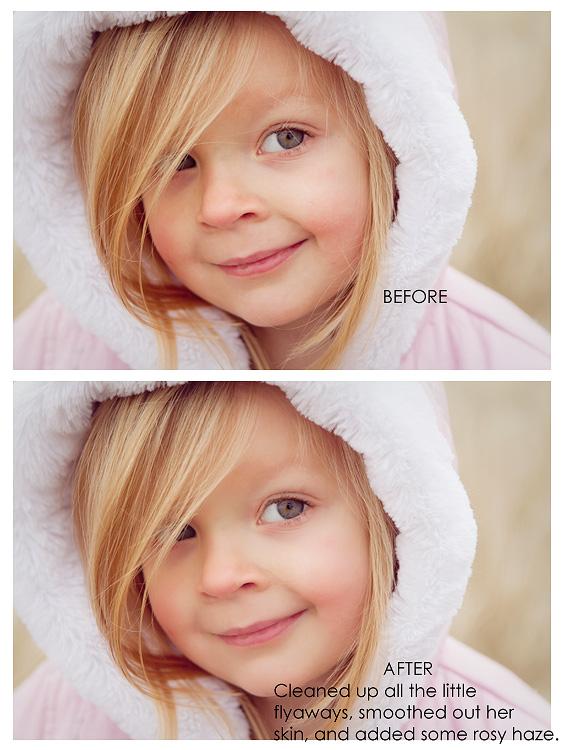 Beautiful Little Girl Image in Spokane, WA