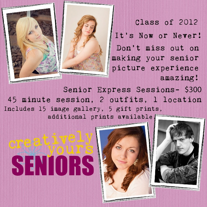 Spokane WA Senior Special for Pictures