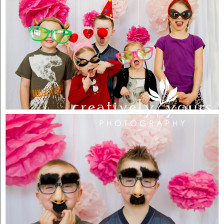 Spokane Childrens Photo Booth Pictures