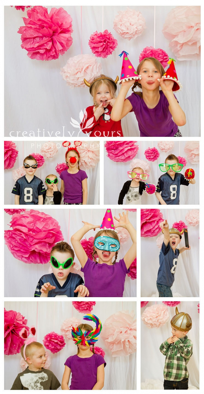 Spokane WA Childrens Party Pictures, Photo Booth