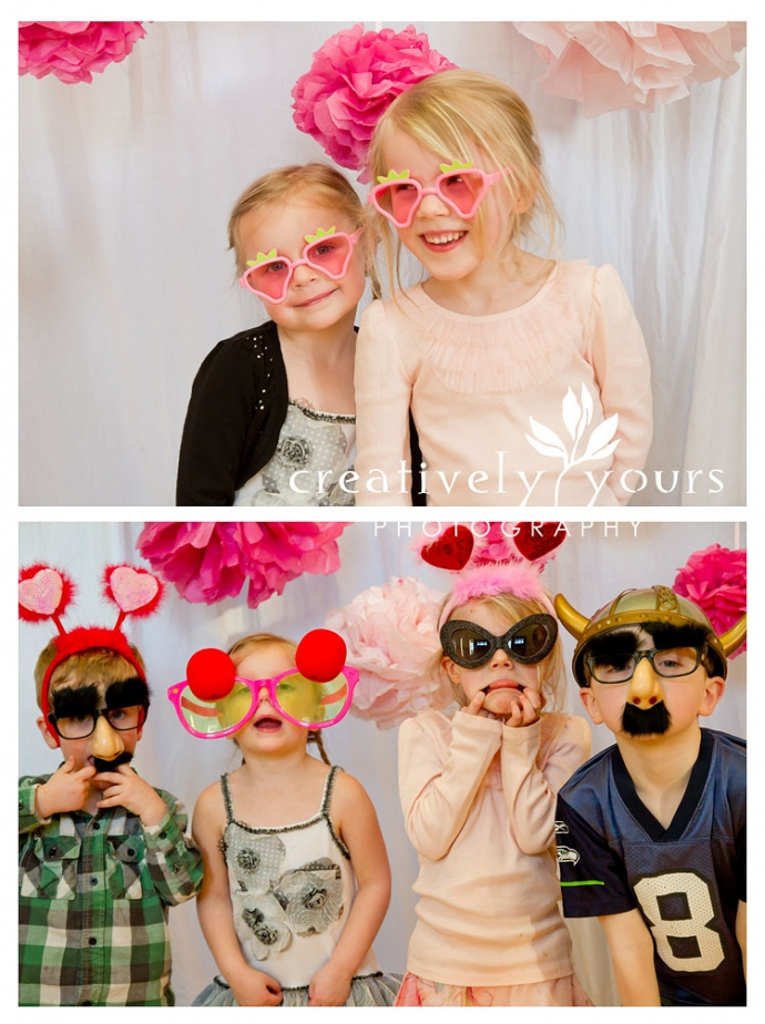 Spokane WA Childrens Photo Booth Party