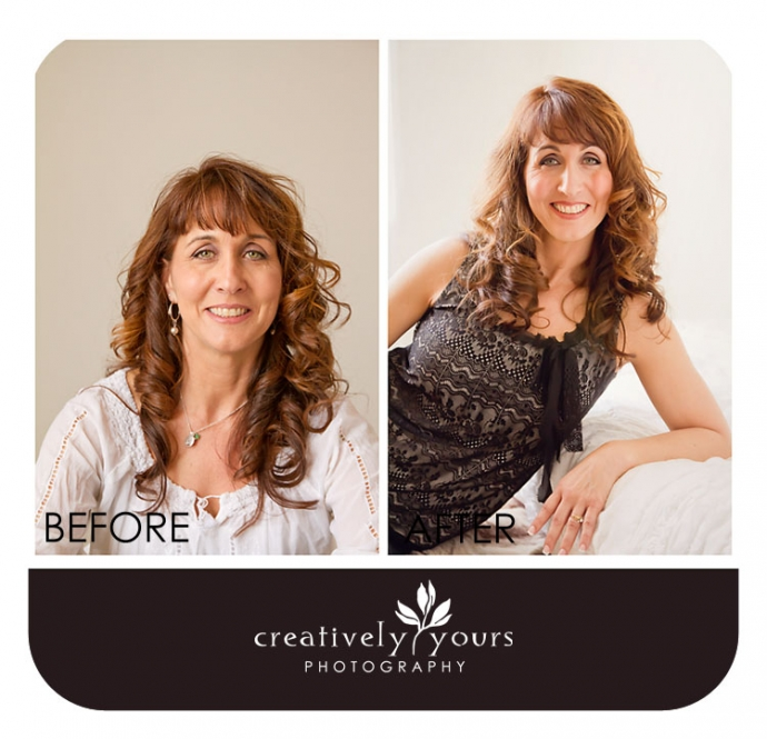 Before and After at Creatively Yours