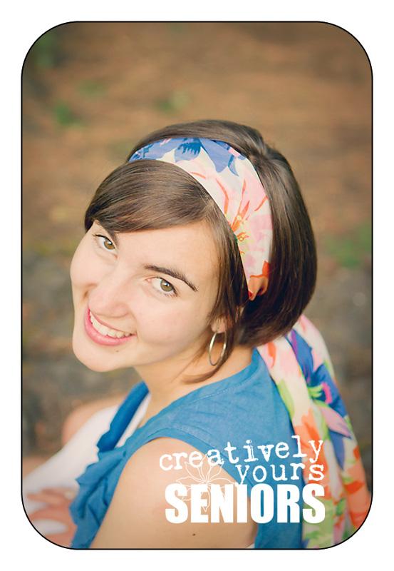 Beautiful Senior Portraits in Spokane WA
