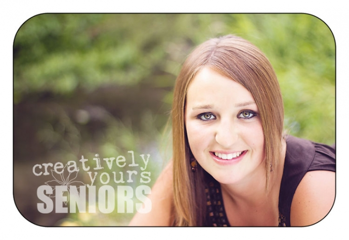 Gorgeous Senior Girl Headshot in Spokane WA