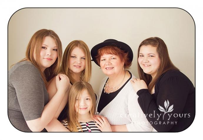 3 Generations of Women Photographs