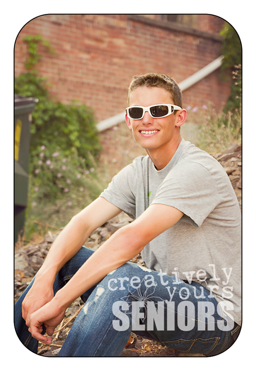 Cool Urban Senior Pictures in Spokane WA