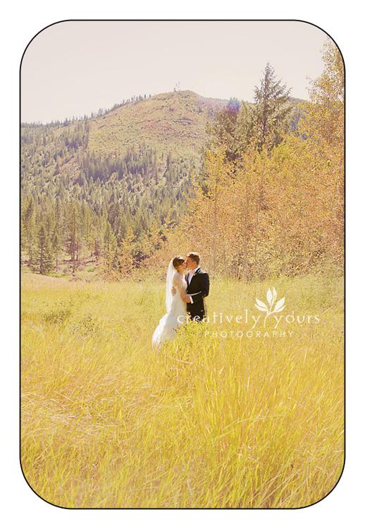 Breathtaking Bride and Groom in Spokane WA