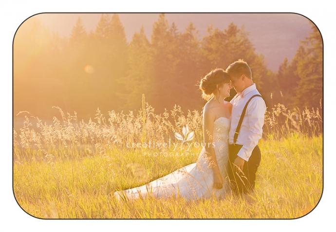 Romantic Wedding Photographer in Spokane WA