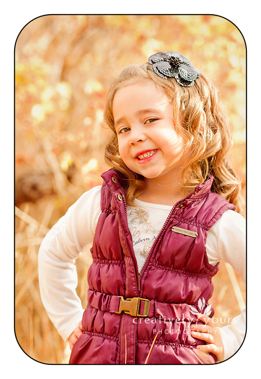 Adorable Little Girl Pictures in Spokane WA