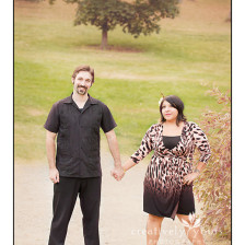 Fun Couples Portrait in Spokane WA