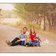 Gorgeous Fall Family Pictures in Spokane WA