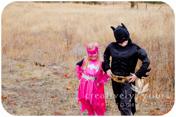 Batman and Batgirl Halloween Costumes