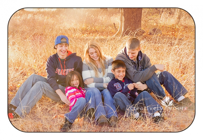 Fun Family Pictures in Cheney WA