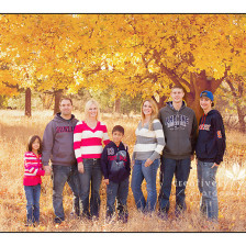 Fall Family Pictures in Spokane WA