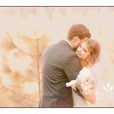 Romantic Wedding Winter Wedding in Spokane WA
