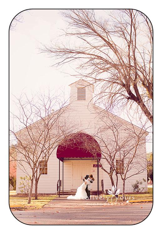 Base Chapel wedding in Spokane WA