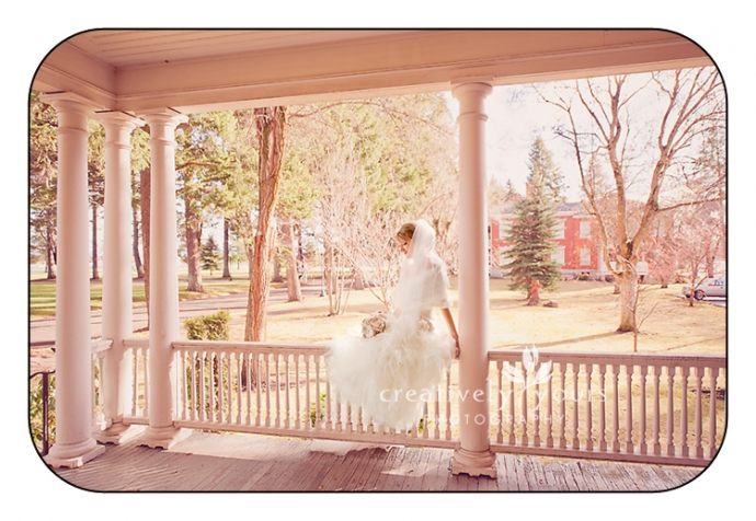 Gorgeous Pictures of Bride in Spokane WA