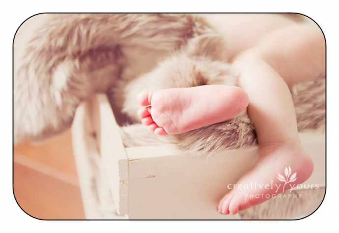 Tiny Newborn Feet Image in Spokane WA