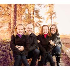 Sweet Family Portraits in Spokane WA