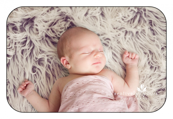 Sweet Newborn Image in Creatively Yours Studio