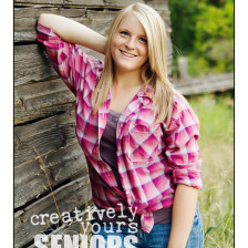 Cute Country Girl Senior Pictures in Spokane Wa