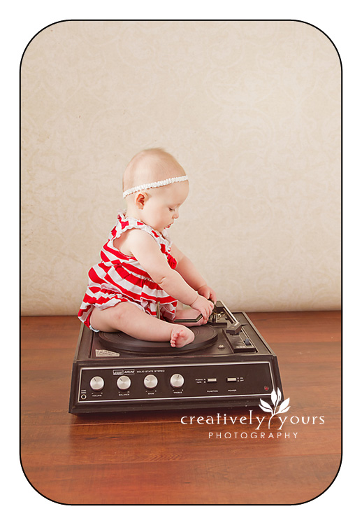 Fun Musical Baby Pictures in Spokane WA