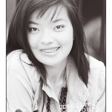 Beautiful Black and White Senior Photos by Creatively Yours in Spokane