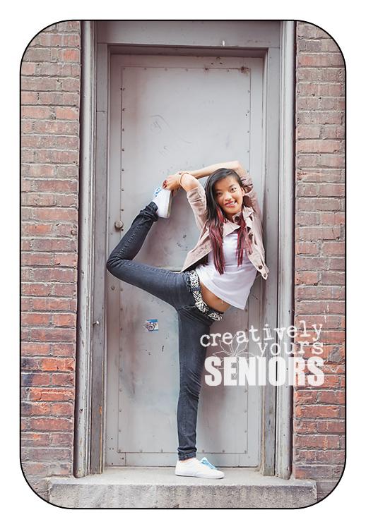 Fun Dancer pictures in Spokane alleyway