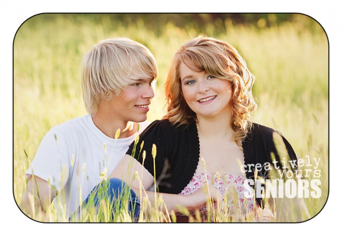 Gorgeous Boyfriend and Girlfriend Images in a field in Spokane WA