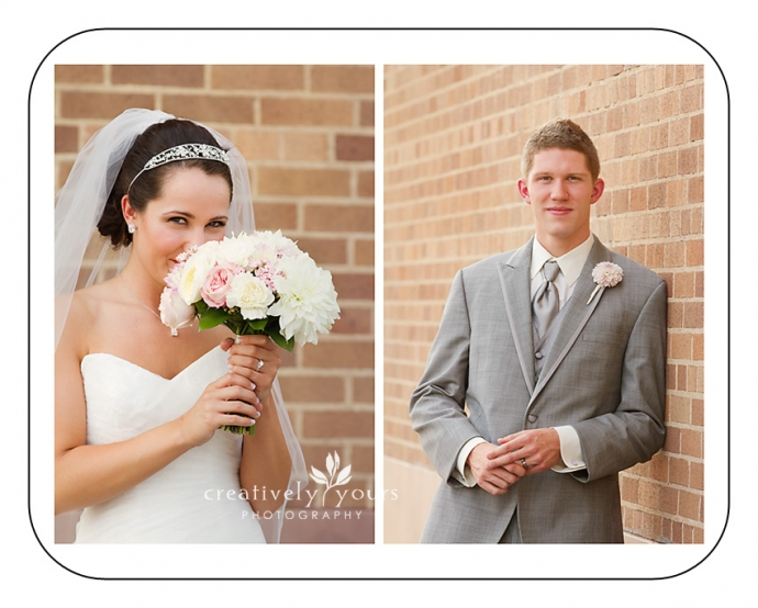 Gorgeous Portaits of Bride and Groom in Spokane