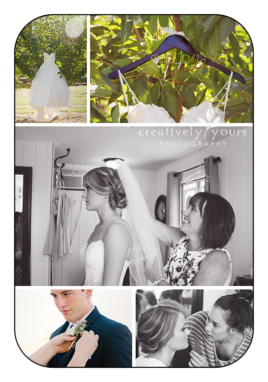 Getting Ready Photos at Spokane WA Wedding