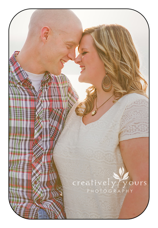 Engagment Photos on Lake Coeur d