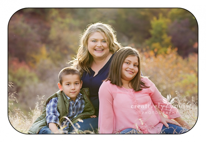 Gorgeous fall family portrait in Spokane WA by Creatively Yours Photography