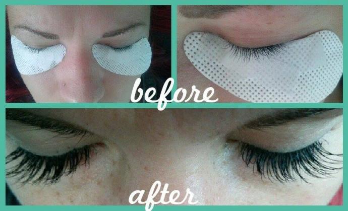 Beautiful Eyelash extensions by Spokane Esthetician Victoria Johnsen