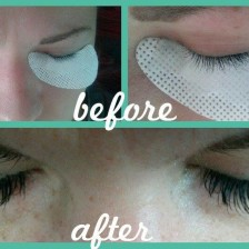 Beautiful Eyelash extensions by Spokane Esthetician Victoria Johnsen
