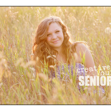 Gorgeous, unique senior photos by Spokane photographer, Creatively Yours