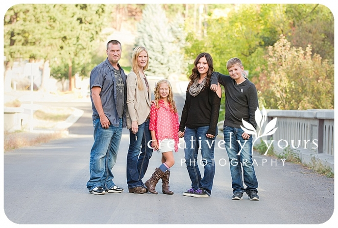 Spokane Family Fall Photos