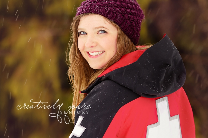 Winter Senior Pictures by Creatively Yours