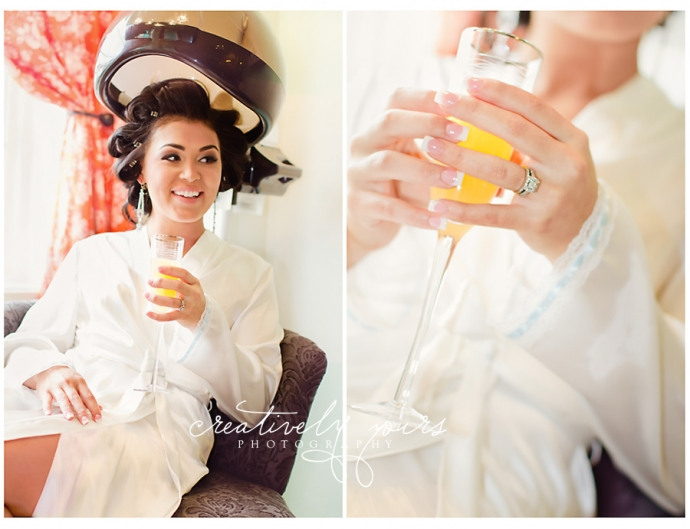 Creatively Yours Photography captures beautiful wedding pictures.