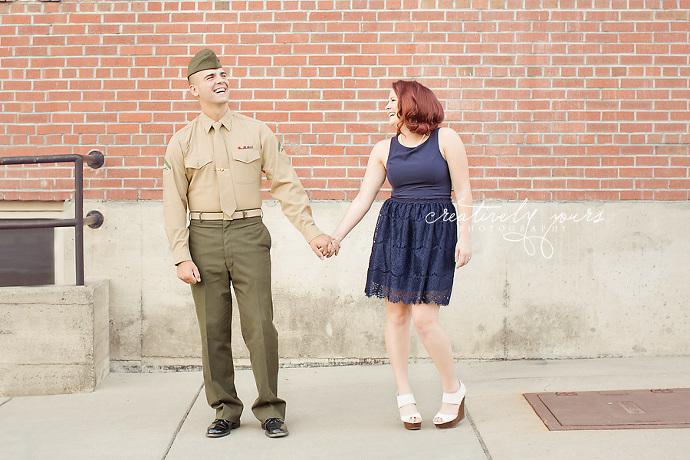 Spokane Military Engagement Photos