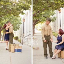 Spokane Military Engagement Photos