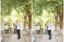 Spokane Engagement photos by Creatively Yours Photography at the South Hill