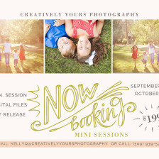 Spokane Family Photographer, fall family photos by Creatively Yours Photography.