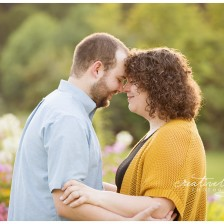 Spokane Engagement Photographer, Creatively Yours Photography photographs couple at the Finch Arboretum.