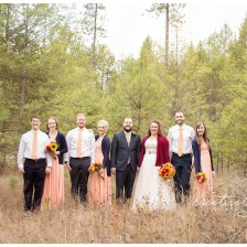 Lowe's Neck of the Woods Wedding photographed by Spokane wedding photographer, Creatively Yours Photography.