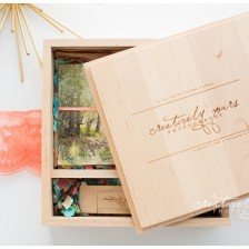 Spokane WA Wedding Photographer, Creatively Yours Photography shares usb packaging for wedding clients