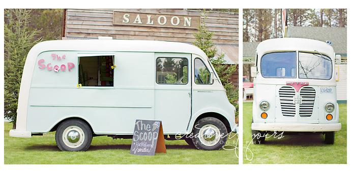 Wedding Venue Spokane Ice Cream Truck